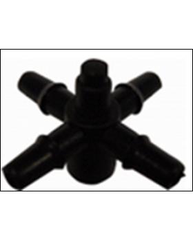 Адаптер для микротрубки на 4 выхода